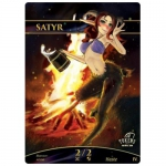 Magic The Gathering Token - Satyr