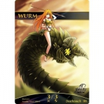 Magic The Gathering Token - Wurm V1