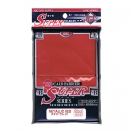 Sleeves Standard x80  Super Series - Metallic Red