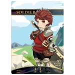 Magic The Gathering Token - Chibi Soldier