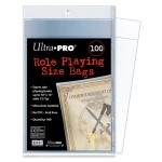 Sleeves  RPG Bags - Role Playing Size (100 Bags)