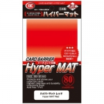 Sleeves Standard x80  Hyper Series - Hyper Mat Red