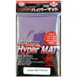 Sleeves Standard x80  Hyper Series - Hyper Mat Purple