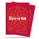 Sleeves Force of Will TCG Card Back - Red