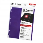 Lot De 10 Feuilles  18 Cases - Side Load - Violet