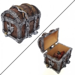 Dés  Pirates Treasure Chest - Set de 9 Dés