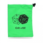 Dés  20cm x 16cm - Dice Bag - Crit +10!