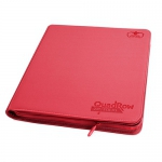 Zipfolio Quadrow 12 Cases  Xenoskin - Rouge