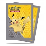 Sleeves Standard x65 Pokemon Pikachu Grey Design