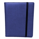 Binder 9 Cases  Dragonhide - Bleu