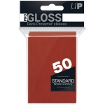 Sleeves Standard x50  Rouge