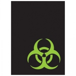 Sleeves Standard x50  Gloss - Biohazard