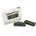 Dés  Gravity Dice D6 - Black Forest - 2 Dice Set
