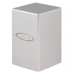 Deck Box  Satin Tower - Metallic Silver