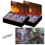 Boite de 36 Boosters Force of Will TCG  A4 - La Bataille D'attoractia x2 + Un Play Mat Offert