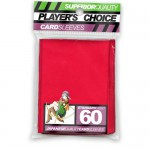 Sleeves Standard x60  Red