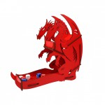 Dice Tower - Dragon Red