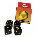 Dés  D6 Dice Tin - Iconic Tri-Force