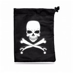 Dés  Dice Bag - Skull & Bones