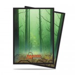 Sleeves Standard x80 Magic The Gathering Mana 5 - Forest
