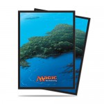 Sleeves Standard x80 Magic The Gathering Mana 5 - Island