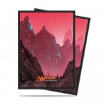 Sleeves Standard x80 Magic The Gathering Mana 5 - Mountain