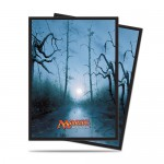 Sleeves Standard x80 Magic The Gathering Mana 5 - Swamp