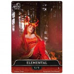 Magic The Gathering Token - Elemental V3