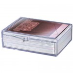 Hinged Clear Box - (50 Cards)