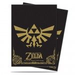 Sleeves Standard x65 The Legend of Zelda Black and Gold