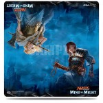 Magic The Gathering Duel Play Mat - Mind VS Might