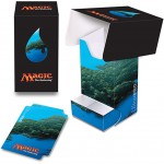 Magic The Gathering Deck Box with Tray - Mana 5 - Island