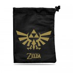 The Legend of Zelda Dice Bag - Black and Gold