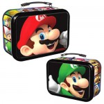Super Mario - 3D Mario & Luigi Tin w/ Handle