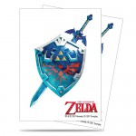 Sleeves Standard x65 The Legend of Zelda Sword & Shield