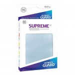 Sleeves Standard x80  Supreme UX - Transparent