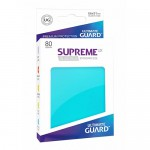 Sleeves Standard x80  Supreme UX - Aigue-Marine