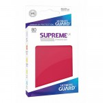 Sleeves Standard x80  Supreme UX - Rouge