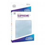 Sleeves Standard x80  Supreme UX - Transparent Matte
