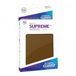 Sleeves Standard x80  Supreme UX - Marron Matte