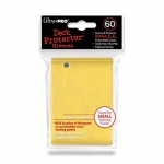 Sleeves Small x60  Jaune