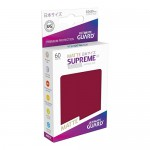 Sleeves Small x60  Supreme UX - Bourgogne Matte