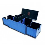 Deck Box  Vault V2 Dragon Hide - Blue