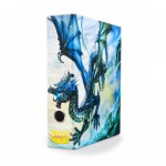 Slipcase Binder  Blue art Dragon