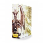 Classeur  Slipcase Binder - White art Dragon