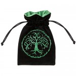Dice Bag - Forest Black