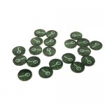 Gemmes / Jetons  Clues Tokens Set (20pcs)