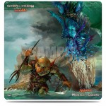 Magic The Gathering Duel Play Mat - Merfolk VS Goblins