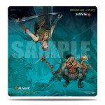 Magic The Gathering Duel Play Mat - Elves VS Inventors