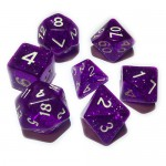 16mm - Role Playing Dice Set - Magic Purple